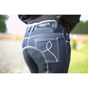 Denim Sparkle Breeches