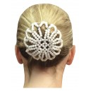 Diamante Beaded Bun cover