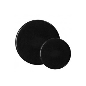 Hunt Black Flat Buttons