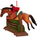 Christmas Decoration Jumping Horse